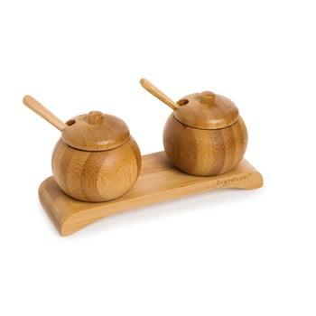 Set din bambus pentru condimente Bambum Obra bonami.ro