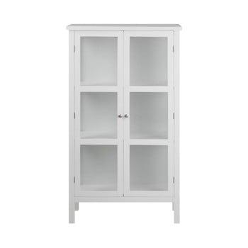 Vitrină cu 2 uși Actona Eton, înălțime 136 cm, alb imagine