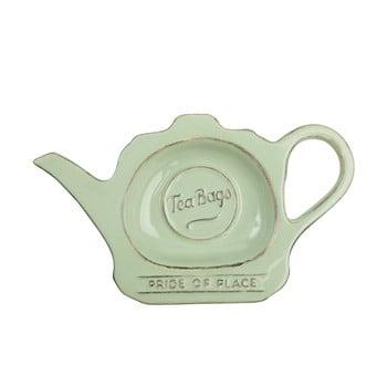 Suport din ceramică pentru plicuri de ceai T&G Woodware Pride Of Place, verde poza bonami.ro