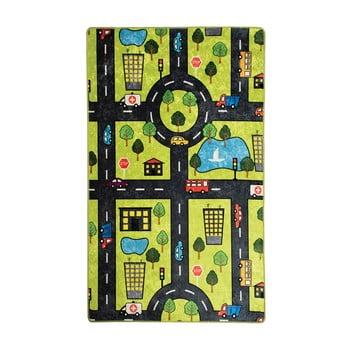 Covor copii Green City, 100 x 160 cm poza bonami.ro