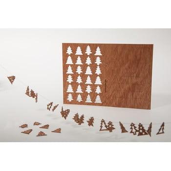 Carte poștală din lemn Formes Berlin s 24 stromky, 14,8 x 10,5 cm poza bonami.ro