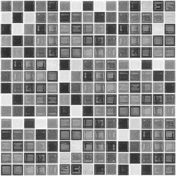 Set 9 autocolante de perete Ambiance Shade of Grey, 20 x 20 cm bonami.ro