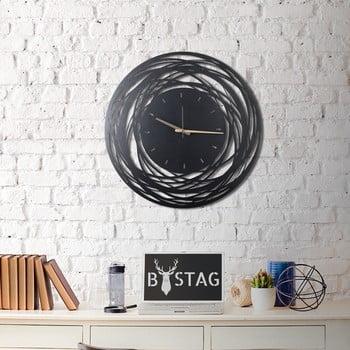 Ceas din metal pentru perete Ball, 70 x 70 cm imagine