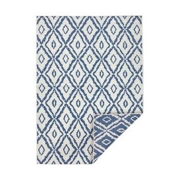 Covor adecvat pentru exterior Bougari Rio, 200 x 290 cm, albastru - alb poza bonami.ro