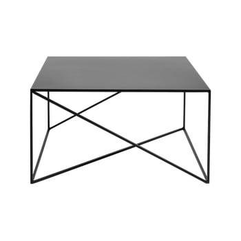 Masă de cafea Custom Form Memo, 100 x 100 cm, negru imagine