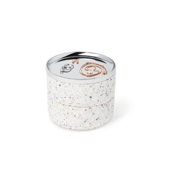 Cutie pentru bijuterii și capac argintiu Umbra Tesora bonami.ro