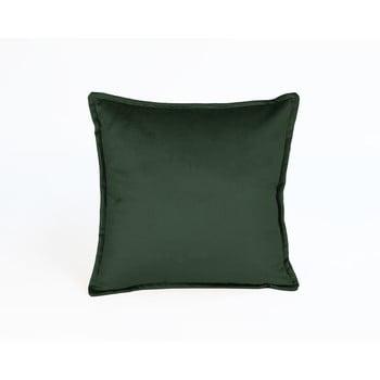 Pernă cu husă din catifea Velvet Atelier Tercio,45x45cm, verde închis bonami.ro
