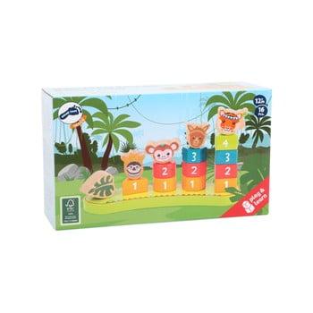 Jucărie din lemn pentru copii Legler Jungle poza bonami.ro