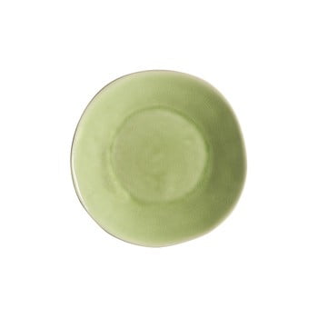 Farfurie adâncă din gresie ceramică Costa Nova Riviera, ⌀ 25 cm, verde bonami.ro