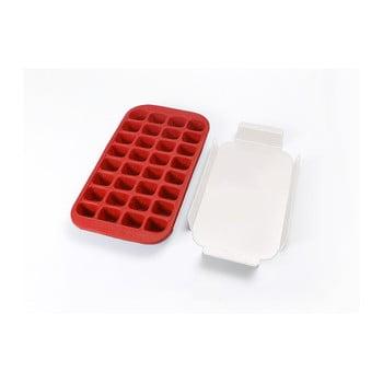 Formă din silicon pentru gheață Lékué Industrial, 32 cuburi, roșu poza bonami.ro