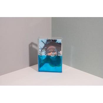 Ramă foto cu apă DOIY Eye, 11 x 16 cm, albastru bonami.ro