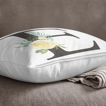 Față de pernă Minimalist Cushion Covers Floral Alphabet E, 45 x 45 cm bonami.ro