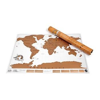 Harta lumii răzuibilă pentru perete Ambiance Scratch Map bonami.ro