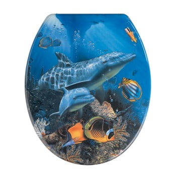 Capac WC Wenko Sea Life, 45 x 37,5 cm poza bonami.ro