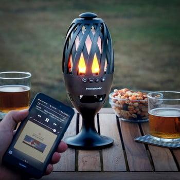 Felinar cu LED și difuzor prin Bluetooth InnovaGoods poza bonami.ro
