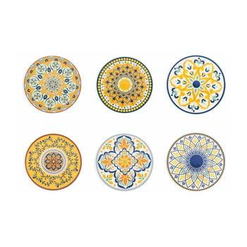 Set 6 farfurii decorative Villa d'Este Sicilia poza bonami.ro