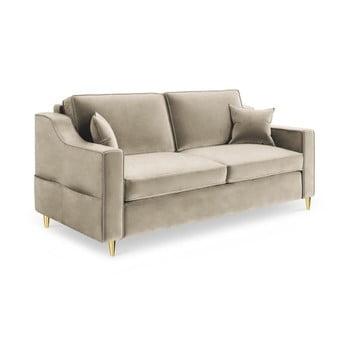 Canapea cu 2 locuri Mazzini Sofas Marigold, bej bonami.ro