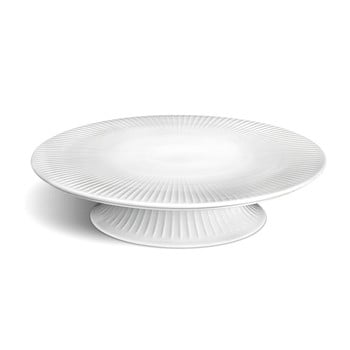 Tavă din porțelan pentru tort Kähler Design Hammershoi Cake Dish, ⌀ 30 cm, alb bonami.ro