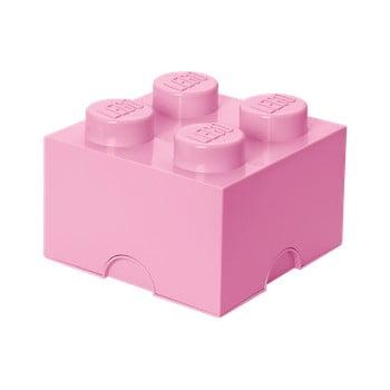 Cutie depozitare LEGO®, roz deschis bonami.ro