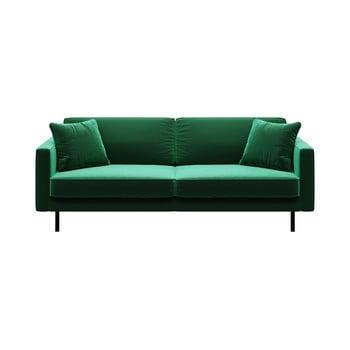 Canapea cu 3 locuri MESONICA Kobo, verde bonami.ro