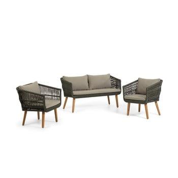 Set mobilier de grădină din lemn de salcâm La Forma Inti poza bonami.ro