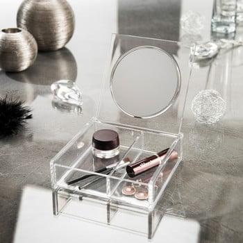 Organizator pentru cosmetice cu oglindă Compactor Nice bonami.ro
