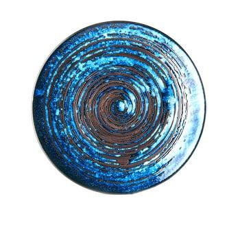 Farfurie din ceramică MIJ Copper Swirl, ø29 cm, albastru bonami.ro
