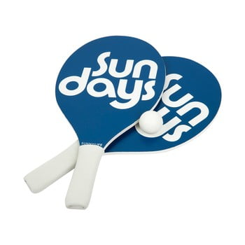 Set 2 palete și minge pentru tenis de plajă Sunnylife Indigo bonami.ro