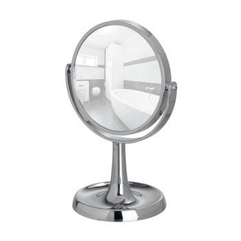 Oglindă cosmetică cromată Wenko Rosolina, înălțime 28 cm bonami.ro