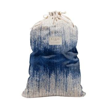 Sac textil pentru rufe Linen Bag Blue Hippy, înălțime 75 cm bonami.ro