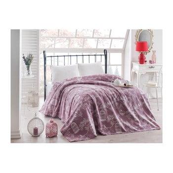 Cuvertură subțire pentru pat Samyel, 200 x 235 cm, violet bonami.ro