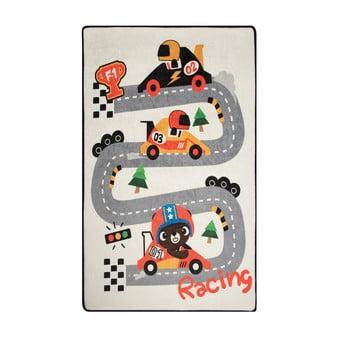 Covor copii Race, 100 x 160 cm poza bonami.ro