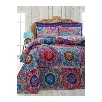 Cuvertură ușoară din bumbac pentru pat de o persoană Mala, 160 x 230 cm poza bonami.ro