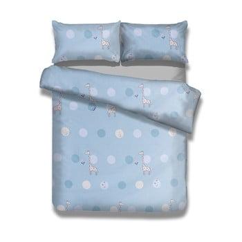 Lenjerie de pat din bumbac pentru copii AmeliaHome Dreamland, 135 x 200 cm poza bonami.ro