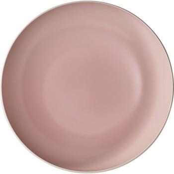 Bol din porțelan Villeroy & Boch Uni, ⌀ 26 cm, alb-roz poza bonami.ro