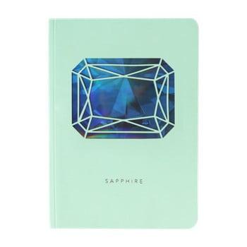 Jurnal A6 Portico Designs Sapphire Birthstone, 124 file bonami.ro