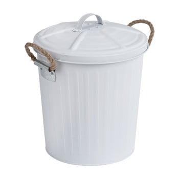 Coș de gunoi din inox Wenko, alb poza bonami.ro