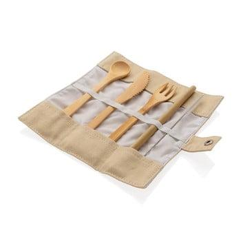 Set de tacâmuri de călătorie din bambus reutilizabile XD Collection bonami.ro
