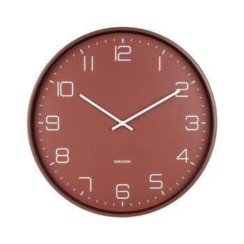 Ceas de perete Karlsson Lofty,ø40cm, roșu bonami.ro