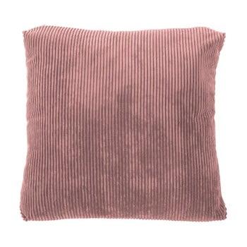 Pernă decorativă Tiseco Home Studio Ribbed, 60x60cm, roz bonami.ro