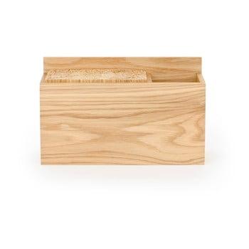 Bloc din lemn de stejar pentru cuțitele de bucătărie Wireworks poza bonami.ro