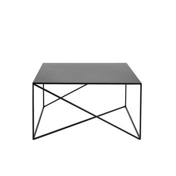Măsuță de cafea Custom Form Memo, 80 x 80cm, negru imagine