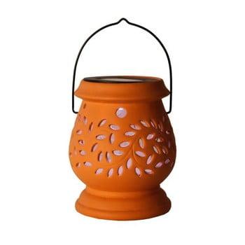 Felinar LED pentru exterior Best Season Clay, roșu poza bonami.ro