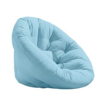 Fotoliu extensibil Karup Design Nest Light Blue bonami.ro