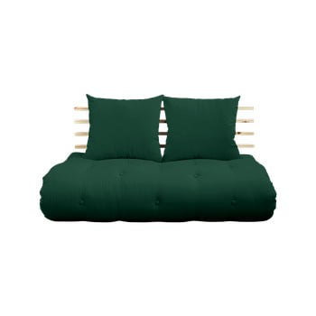 Canapea variabilă Karup Design Shin Sano Natur/Forest Green imagine