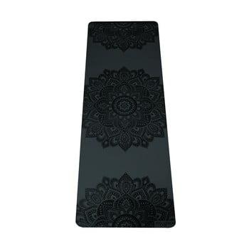 Saltea pentru yoga Yoga Design Lab Manadala Charcoal, 5 mm, negru bonami.ro