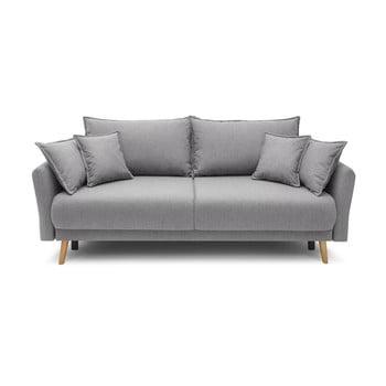 Canapea extensibilă Bobochic Paris Mia, gri deschis bonami.ro