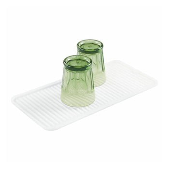 Suport din silicon pentru veselă iDesign Lineo Drying Mat, 40,5 x 20,5 cm bonami.ro