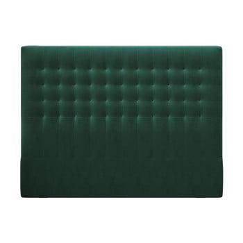 Tăblie pentru pat cu tapițerie de catifea Windsor & Co Sofas Apollo, 200x120cm, verde poza bonami.ro