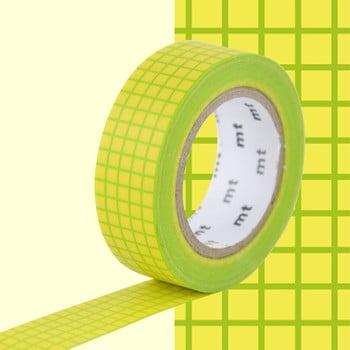 Bandă decorativă Washi MT Masking Tape Rosalie, rolă 10 m bonami.ro
